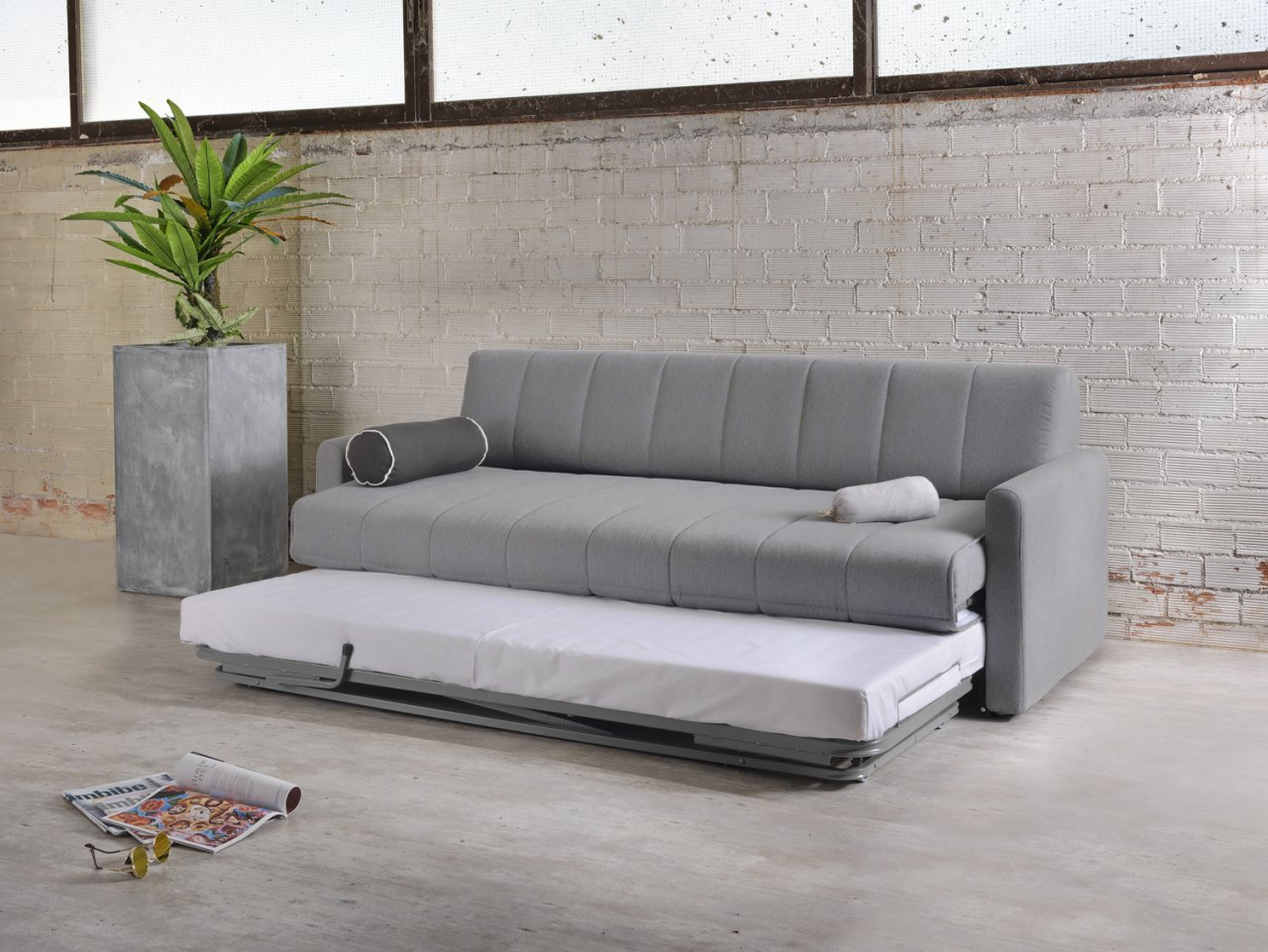 Four Seater Sofa Bed Star Two Single Or One Double Bed